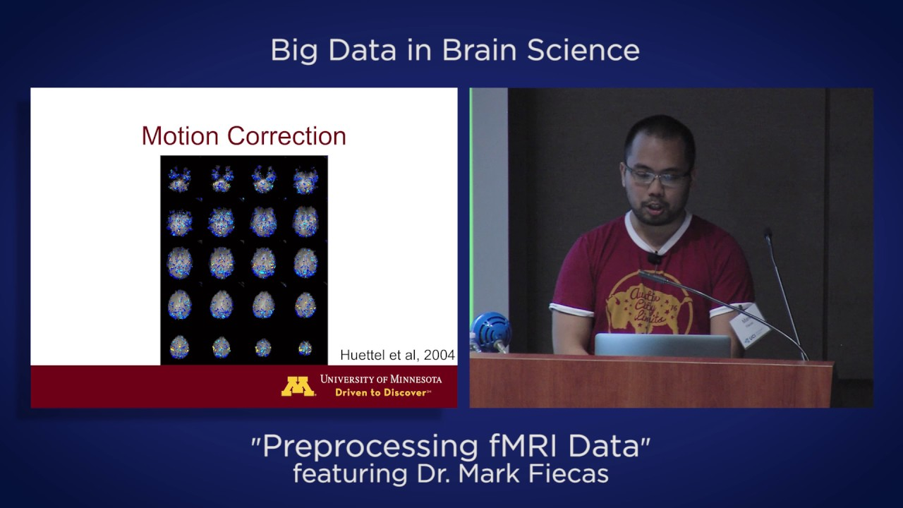 "Video: Big Data in Brain Science –"" Reprocessing fMRI Data"" featuring Dr. Mark Fiecas"